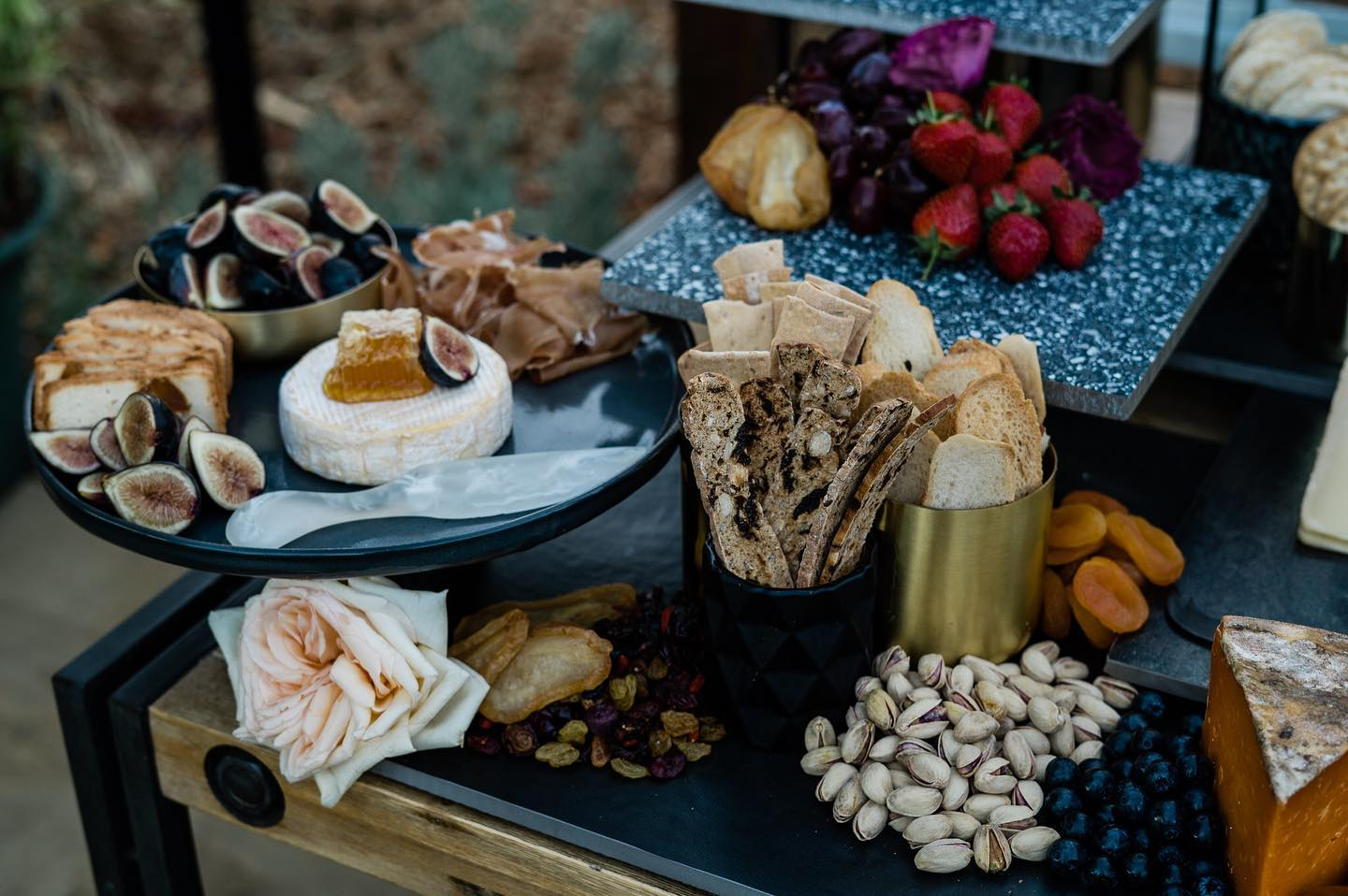 peggy saas photography perth wedding grazing tables platters boards food catering