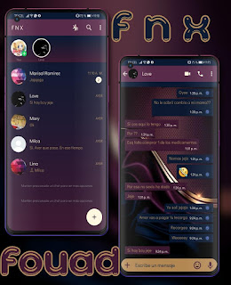 Dark Mod Theme For YOWhatsApp & Fouad WhatsApp By Ave fénix