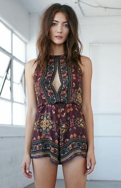 Boho-romper-dress