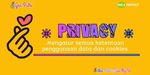 Kebiajakan Privasi Gea Putri Wulandari