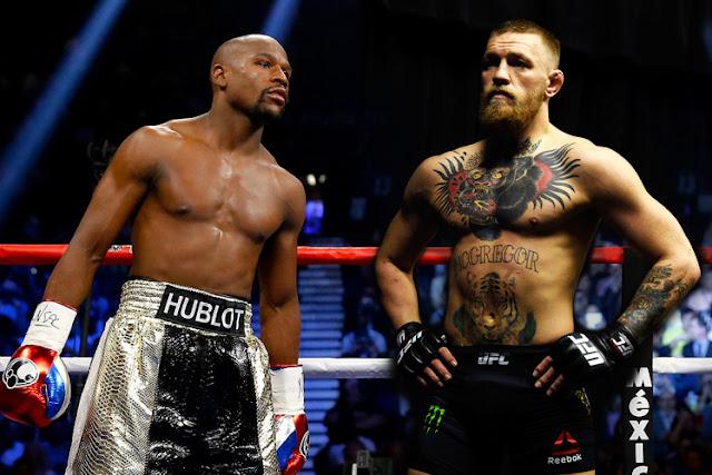 Luta McGregor e Mayweather no UFC Dia 26 de Agosto 26-08-2017