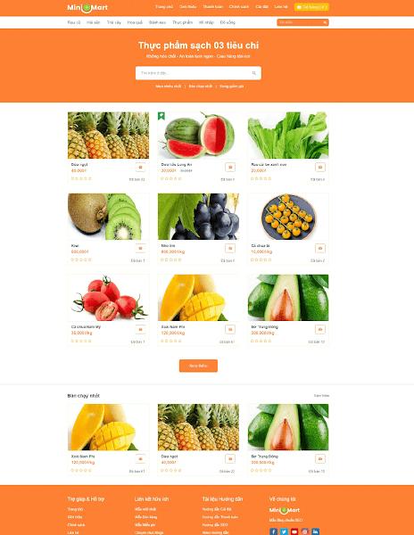 Template blogspot bán hàng đẹp mắt