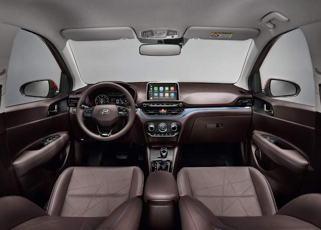 Novo Hyundai HB20 2020 - interior