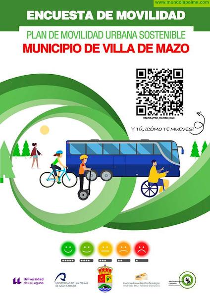 Mazo anima a la ciudadanía a participar en una encuesta sobre movilidad sostenible