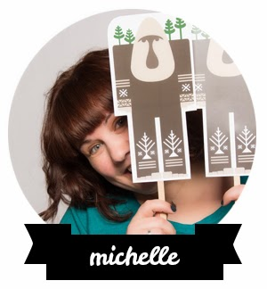Michelle from Thunderpeep Designs will be guest blogging on CreativeClementine.com for a little while.
