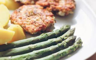 Leftover Ginger Rice Patties Recipe