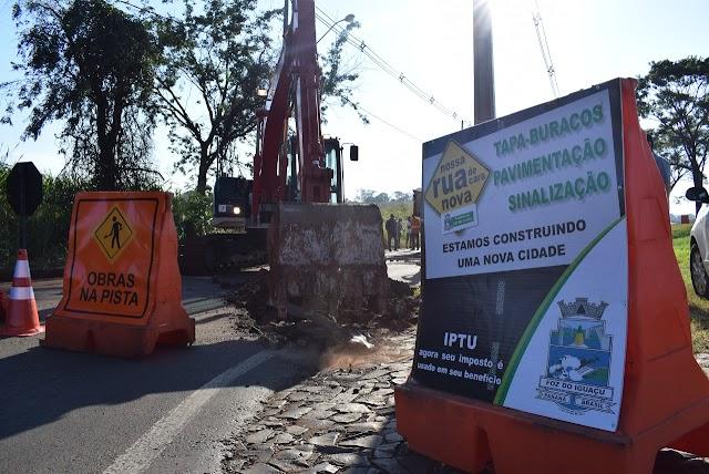 Infraestrutura: Município lança licitação para obras na Avenida Olímpio Rafagnin