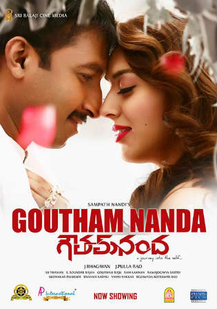Goutham Nanda 2017 HDRip UNCUT Hindi Dual Audio 720p Watch Online Full Movie Download bolly4u