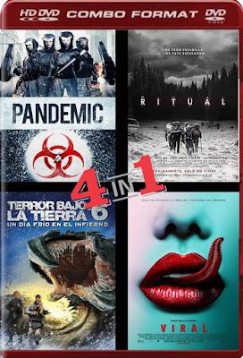 COMBO TERROR HD VOL 149 DVDHD DUAL LATINO 5.1 + SUB