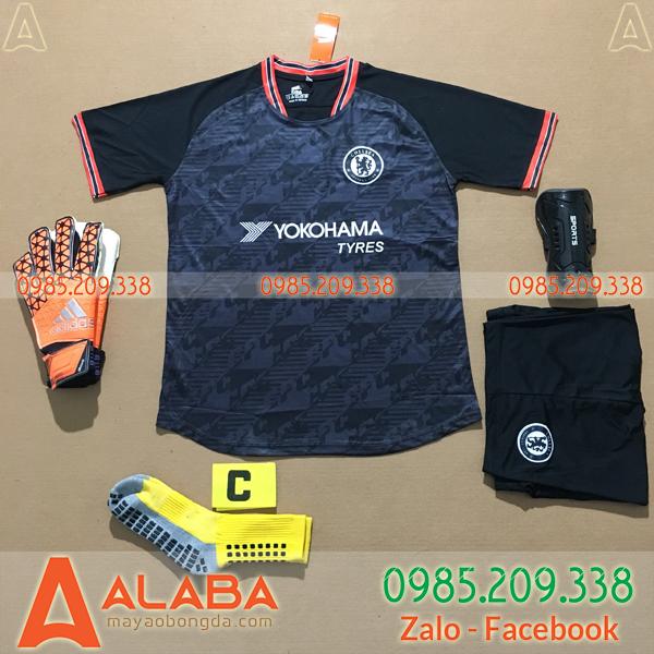 Áo Chelsea 2020 Training 5 Màu Đen