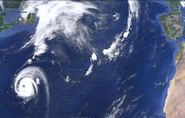 Huracán Gaston en el Atlántico, ¿afectará a Canarias?