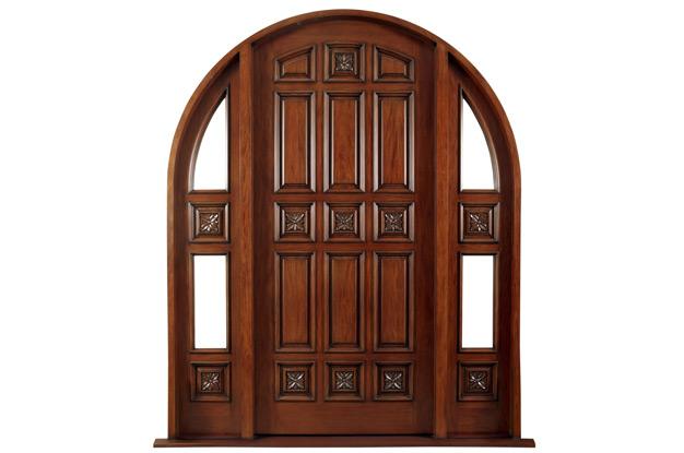 cửa gỗ lim lào -mẫu 4