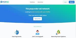 Popnc Popunder Ad Network Terbaik Dengan Rate Tinggi dan Membayar