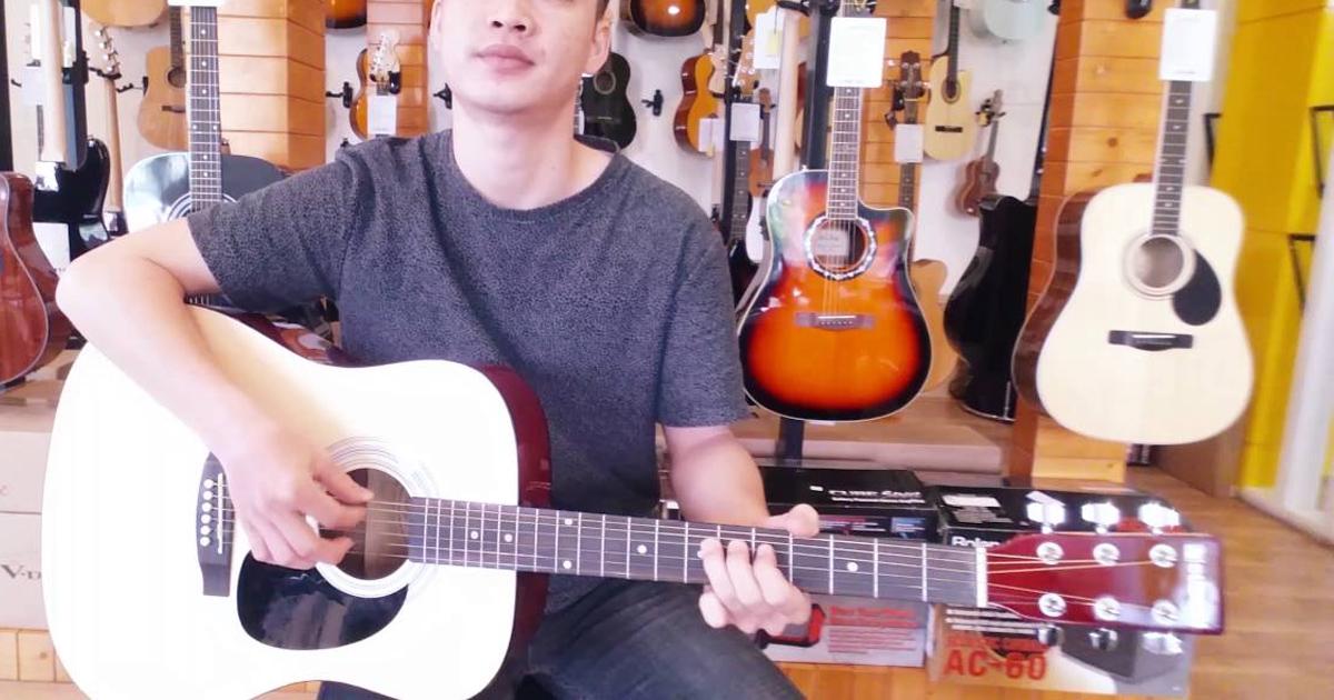 Bạn bị đau tay khi mới tập đàn? Hãy chọn Guitar Suzuki SDG6!