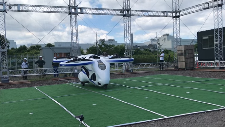 Drone Yang Bisa Angkut Penumpang