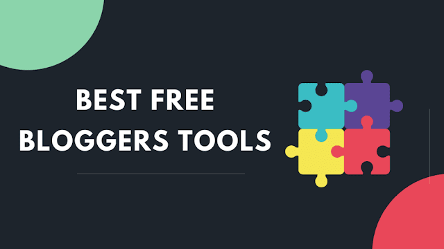 FREE tools for Bloggers