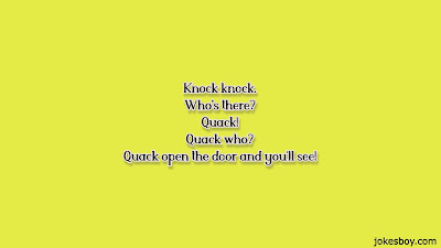 Duck knock knock Jokes