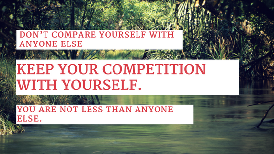 Comparison with yourself