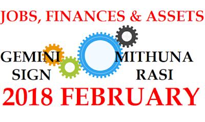 2018 February Mithuna Rasi Palangal