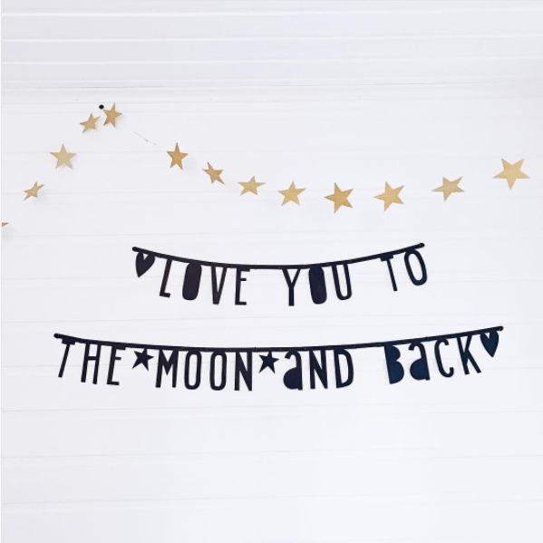 Letter Banner A Little Love Company