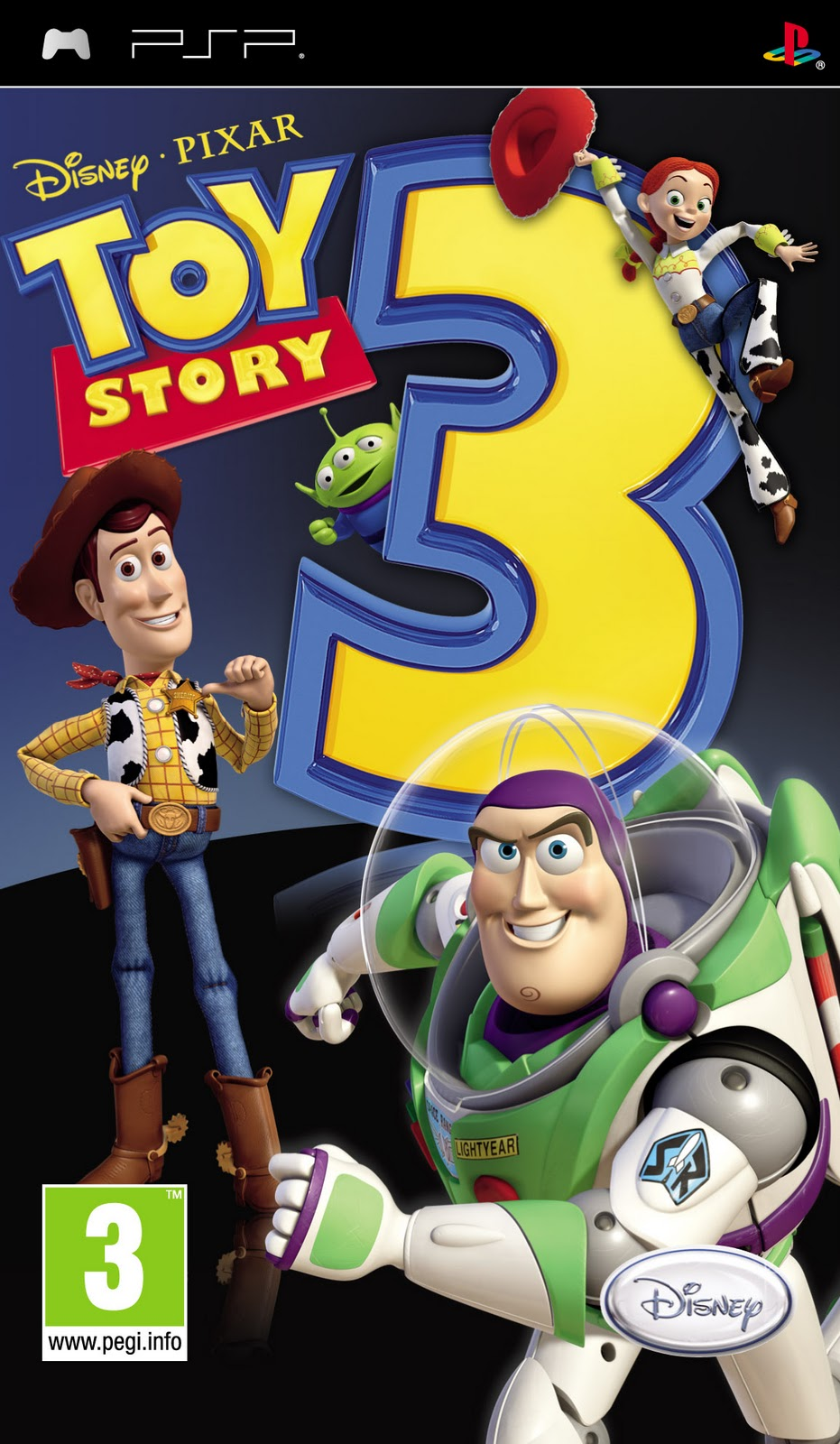 Toy Story 3 The Video Game Usa Psp Indo