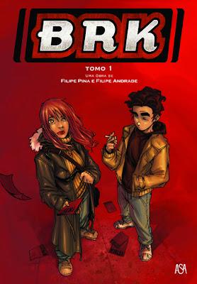 BRK – Tomo 1, de Filipe Pina e Filipe Andrade