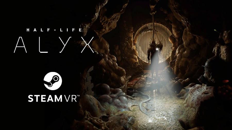 half lfe alyx vr exclusive alyx vance gameplay combine enemies valve corporation steam release date march 23