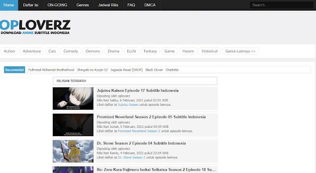5 Situs Nonton dan Download Anime 4