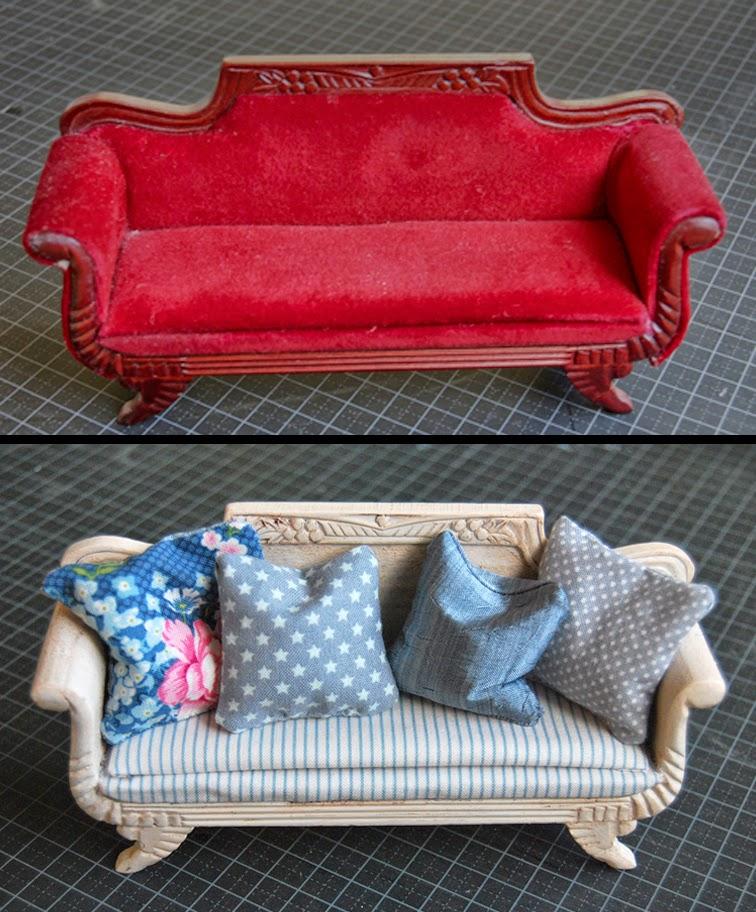 miniatyrlig pimping up old furniture. Black Bedroom Furniture Sets. Home Design Ideas