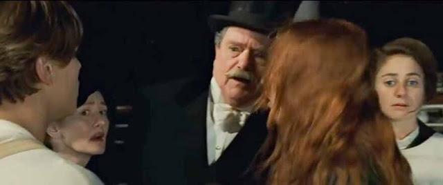 Cena do filme Rose e Jack conversando