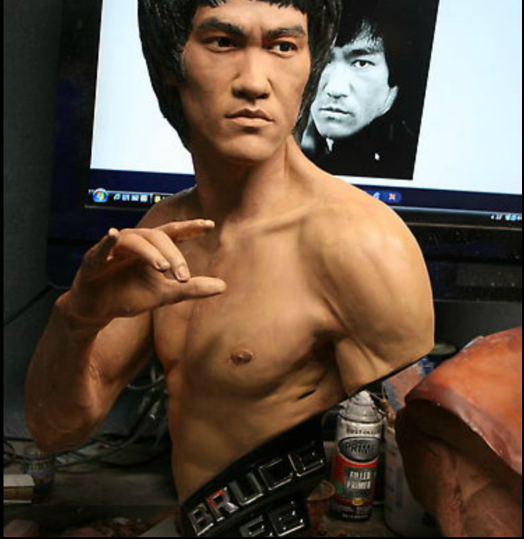 Bruce Lee by Bobby Causey