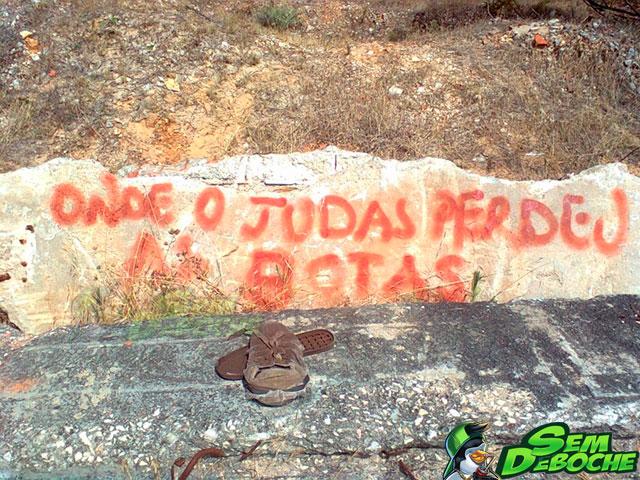 ONDE JUDAS PERDEU AS BOTAS