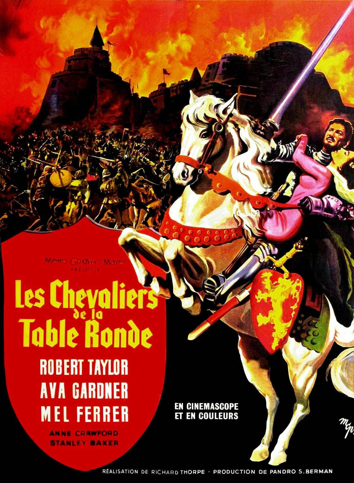Jeepeeonline le blog les chevaliers de la table ronde 1953 - Les chevaliers de la table ronde film 1953 ...