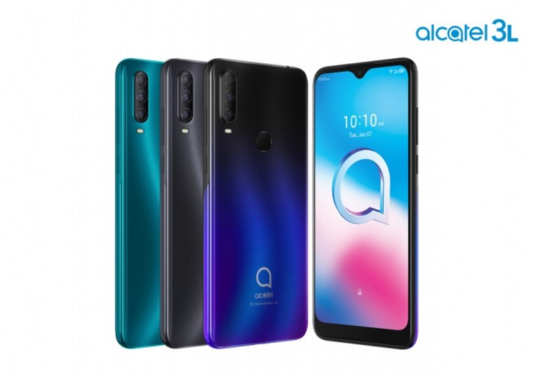 Alcatel 3L, 1S, 1V and 1B Launched