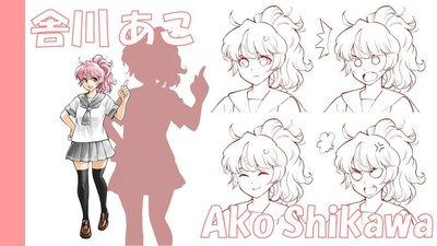 Pechiko as Ako Shikawa