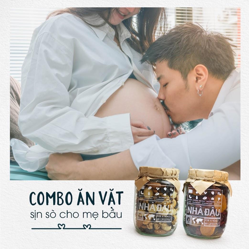 Thiệp quà tặng ý nghĩa cho Mẹ bầu và combo dinh dưỡng