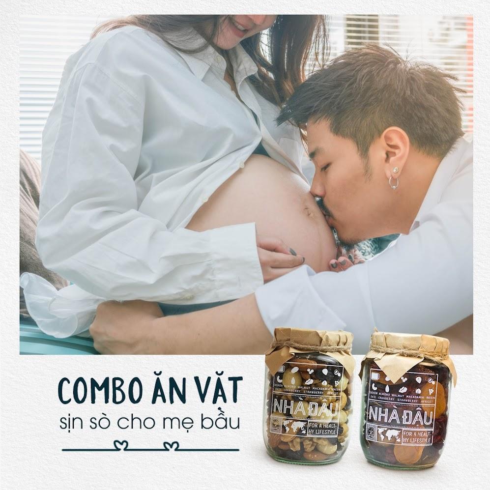 Gợi ý thực đơn bữa phụ dinh dưỡng cho Mẹ Bầu 5 tháng