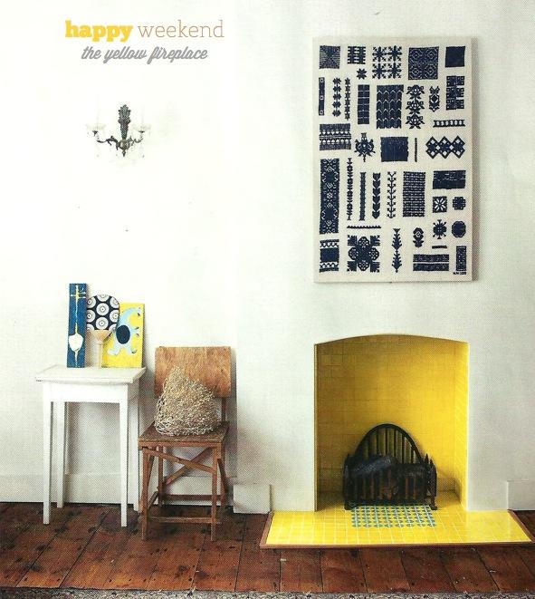 yellow-fireplace