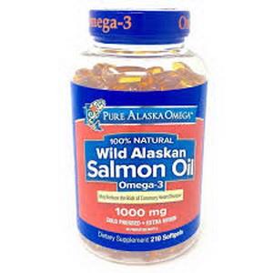 Dầu Cá Hồi Cung Cấp Omega 3 Wild Alaska Salmon Oil Hàng Xách Tay Từ Mỹ