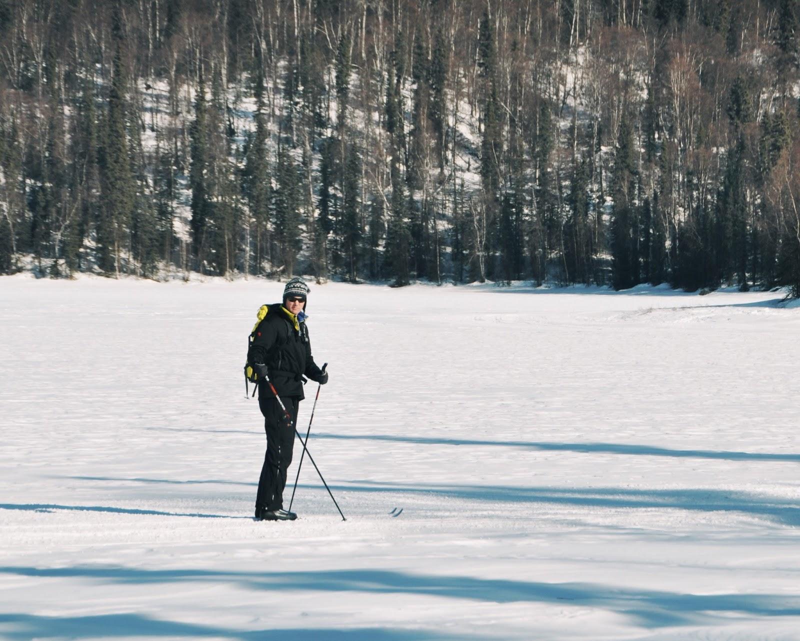 alaska xy lakes groomed trail