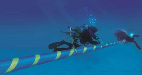 How Google's huge submarine cables detect earthquakes before they happen?