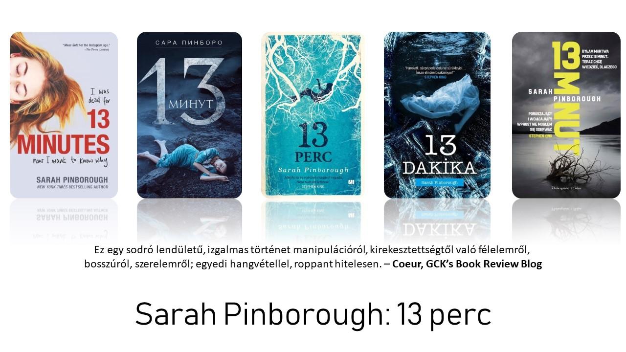 Értékelés - Sarah Pinborough: 13 perc
