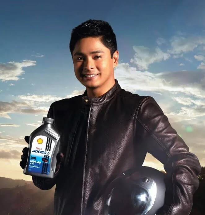 Coco Martin Unleashes His Biker Side with Shell Advance