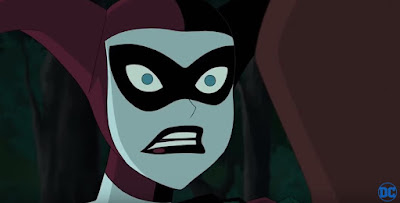Harley Quinn animated face