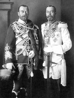 Nicolas II vs Jorge V