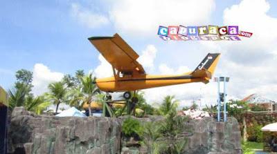 saygon waterpark, pesawat,