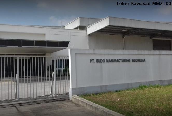 Loker Online Terbaru PT.Sudo Manufacturing Indonesia Daerah MM2100