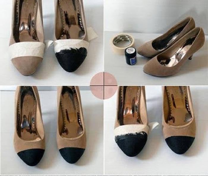 topuklu ayakkabı boyama ve yenileme yöntemleri