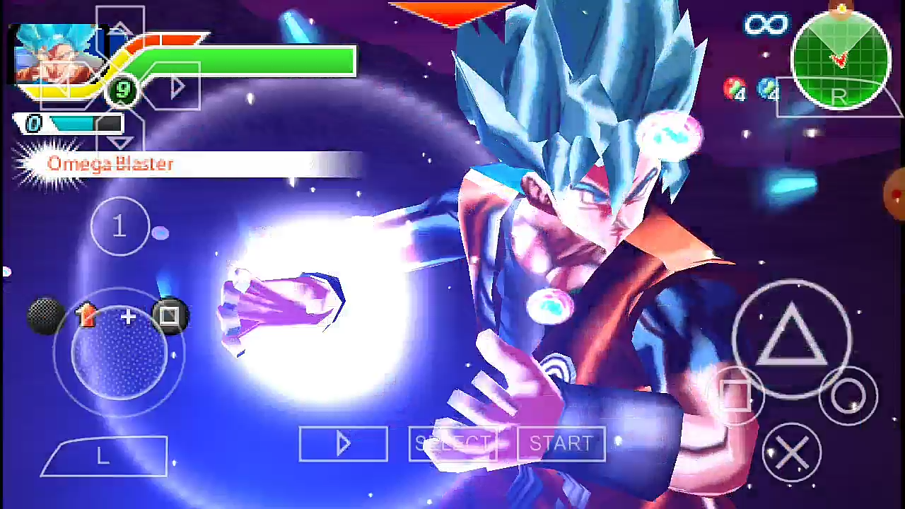 Dragon Ball Xenoverse 2 Mod Goku Blue