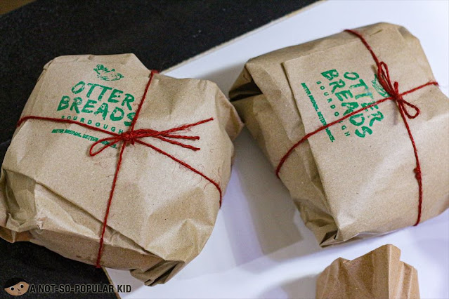 Packaging of Otter Bread Manila - so neat and elegant!